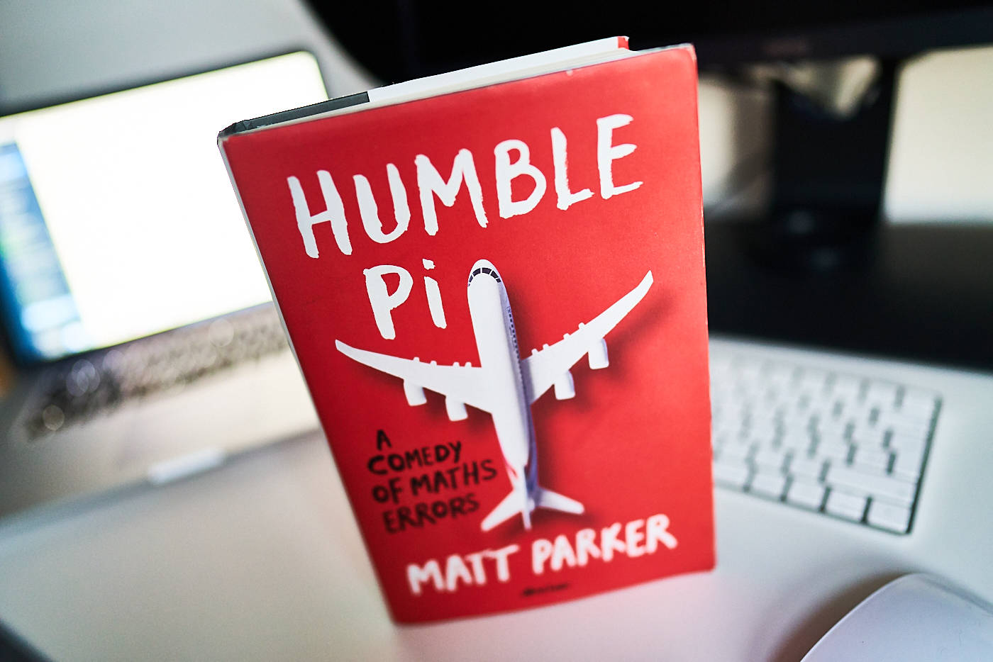 "Picture of a ""Humble Pi: A Comedy of Maths Errors"" by Matt Parker book"