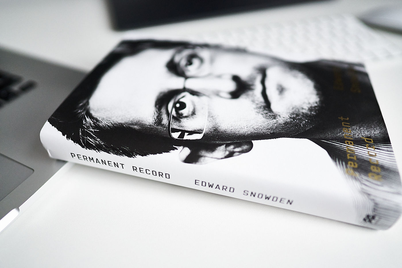 "Picture of ""Permanent Record"" by Edward Snowden book"