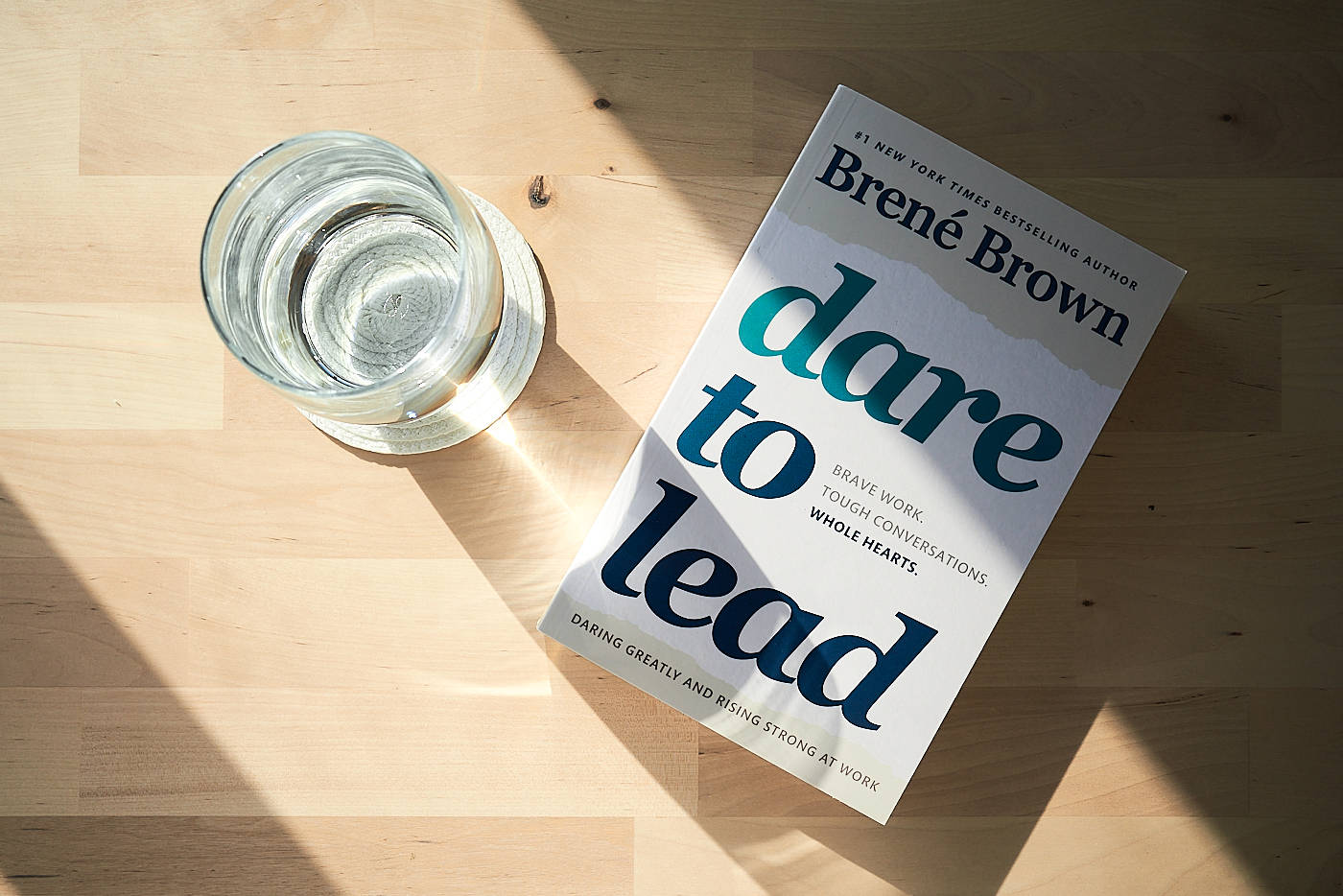 """Dare to Lead"" by Brené Brown"